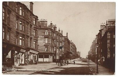 DENNISTOUN Whitehill Street, Glasgow, RP Postcard unused