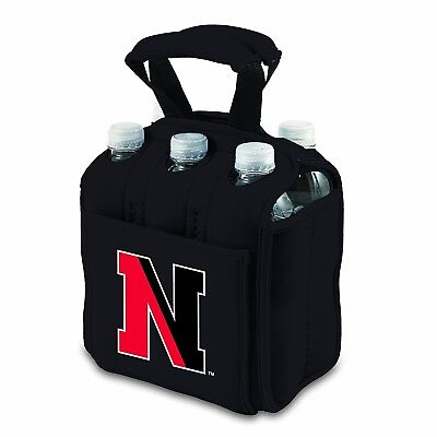 (Black) - NCAA Six Pack Cooler Tote. Picnic Time. Best Price