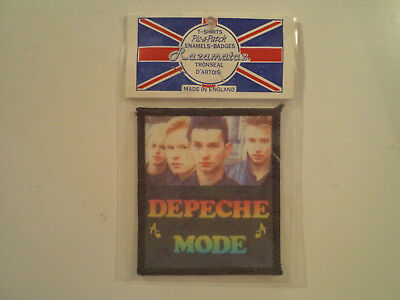 Vintage DEPECHE MODE  80s Unused PATCH synth pop cure smiths punk siouxsie shirt