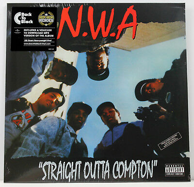NWA Straight Outta Compton LP vinyl D/L 2013 sealed N.W.A ICE CUBE/EAZY E/DR DRE