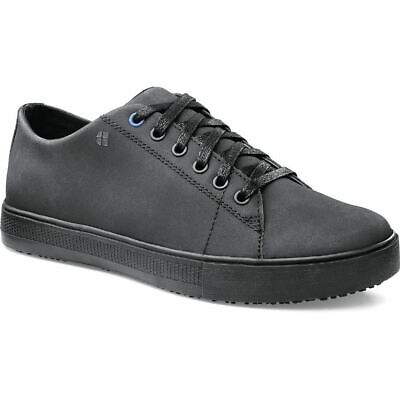 Shoes For Crews Women Ladies Old School Sneakers Trainers Work Lace Up