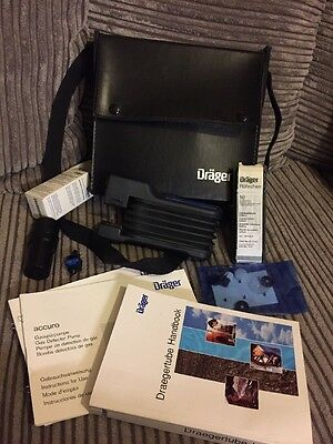 Drager Accuro Gas Detector Pump