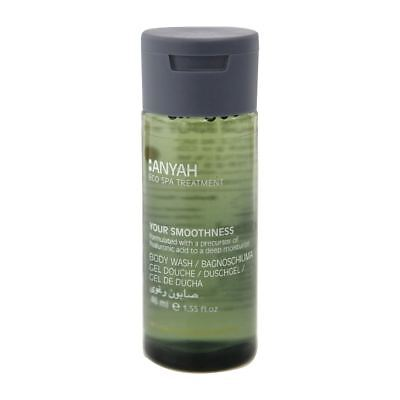 X 216 Unbranded Anyah Eco Spa Body Wash 46Ml Kitchen Restaurant Catering