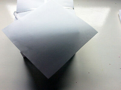 Embroidery Backing Stabiliser - 50g/m2 Pre-Cut 20 x 20cm White - Top Quality