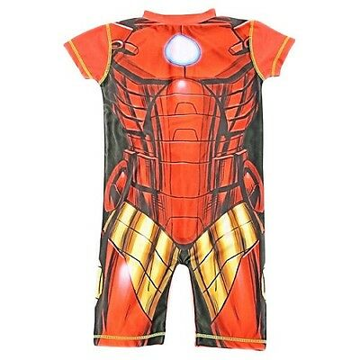 Marvel Avengers Iron Man UV Sun Protection 50+ Swimming Costume 1 to 5 Years (HP