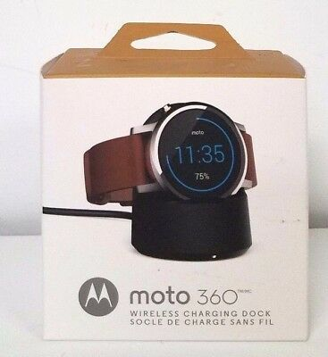 Motorola Wireless Charging Dock for Moto 360 2nd Gen Watches 89818N