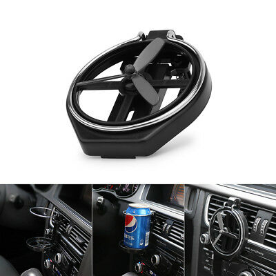 Foldable Car Van Cup Can Clip-on Holder Air Vent Bottle Coke Drink Mount Stand