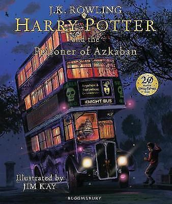 Harry Potter and the Prisoner of Azkaban Illustrated Edition by J K Rowling New
