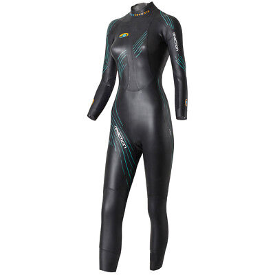BlueSeventy Reaction Womens Wetsuit Black/Teal