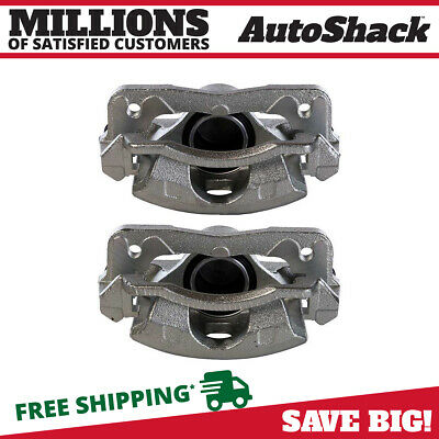 New Front Left and Right Brake Calipers Set fits Acura EL Honda Civic Insight