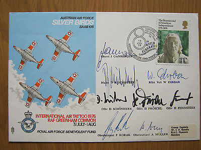 Flight Cover    Silver Birds   Signed