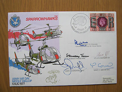 Flight Cover    Sparrowhawks       Signed