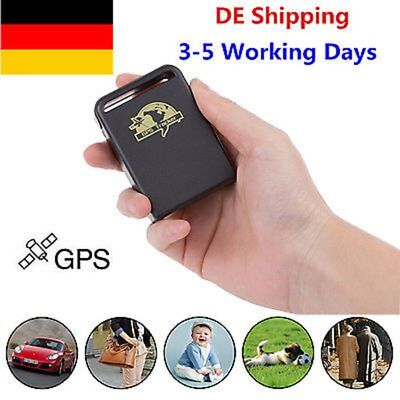 TK102B GPS Tracker Vehicle Spy SMS/GSM/GPRS Tracking System Device Protection DE