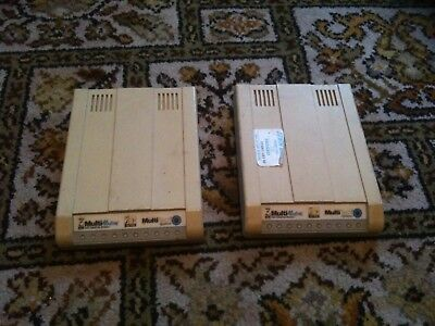2x MultiModem 56k Data/fax Modem (MultiTech Systems)