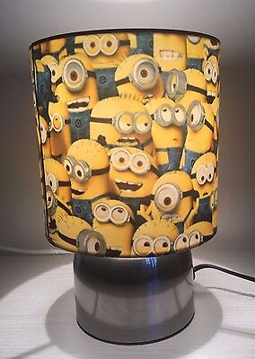 Minions dispicable me Touch lamp