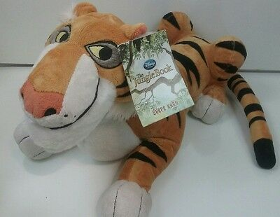 Disney Store Shere Khan Tiger Jungle Book Plush Toy Animal 14 Inch *BRAND NEW*
