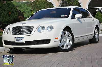 2006 Bentley Continental Flying Spur  White 2006 Bentley Continental Flying Spur