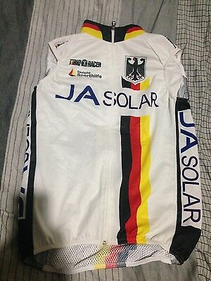 German national cycling team windvest and bib tights