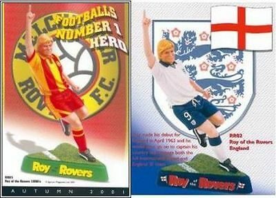 Robert Harrop Roy Of The Rovers - New, Boxed - Twin Pack - England & Melchester