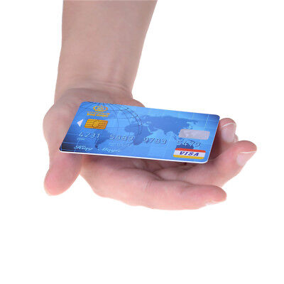 Amazing Floating Credit Card Close Up Magic Props Trick Magician Toy Stage PTCA