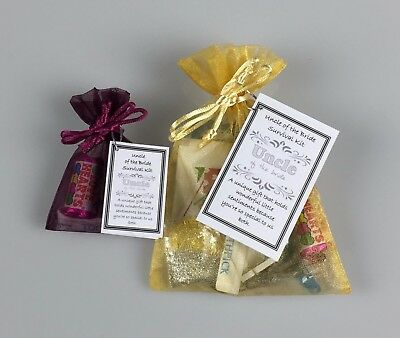 Son of the Bride Survival Kit unusual Wedding Favour Thank You keepsake Gift