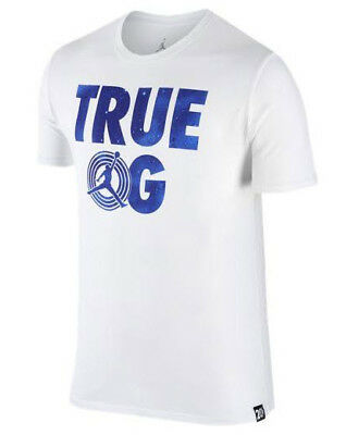 d69e444bc1b6 NIKE JORDAN AJ 11 Space Jam True Og Men s T-Shirt  801577-100  White ...