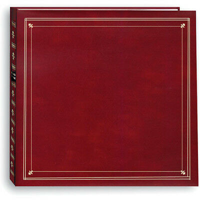 Pioneer Photo Albums MP-46 Burgundy 4 x 6 / 6 300 Photos Full Size Memo Album