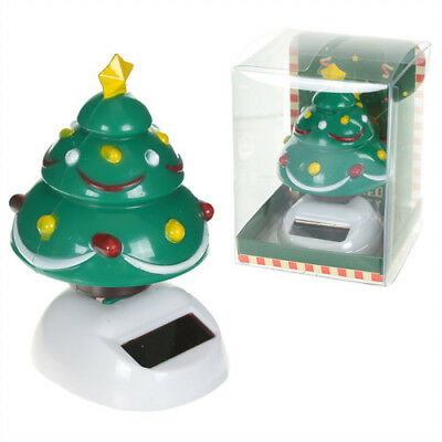 Cute Decorative Christmas Tree Solar Powered Pal Free UK Delivery