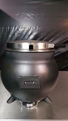 Server KS 84300 Black 11 qt. Soup Kettle Warmer