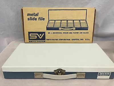 NEW Smith Victor Metal Photo Slide File 2x2 (USA)