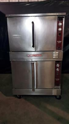 Southbend SLGS/22SC Double Stack Full Size Gas Convection Oven