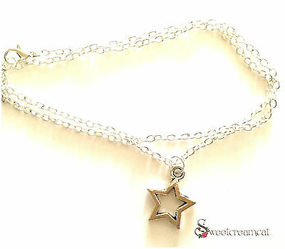 Beautiful Silver Plated Star Necklace