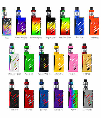 Smok T-Priv Kit - New 220W Mod with TFV8 Baby Tank Coils - 100% Authentic T PRIV