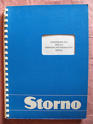 Storno CQM6000 - Stornophone 6000 Service Manual - Publication No: 8311.6664-02