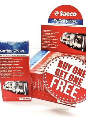 Saeco Coffee Clean tablets BUY ONE GET ONE FREE $19.99