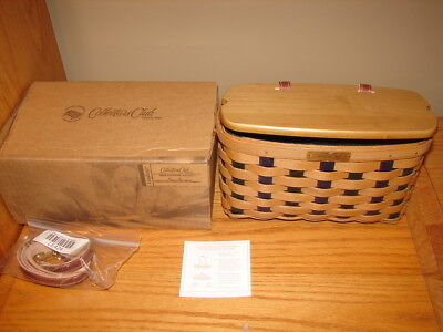 Longaberger 2009 Collectors Club Charter Member Basket Combo NIB
