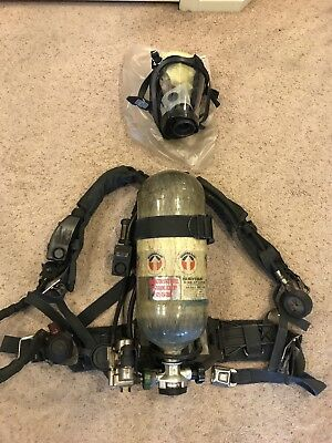 Survivair Panther HP45 APPARATUS (SCBA) - Mask, Compass Pass, Doubler And More!