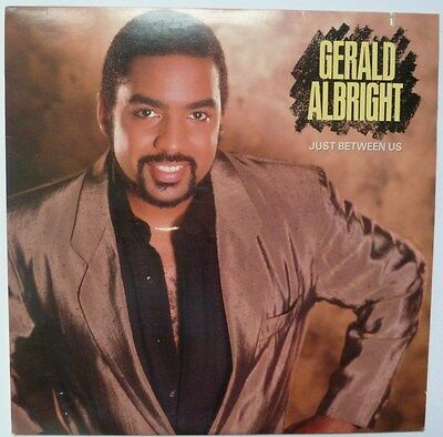 "Gerald Albright - Just Between Us - 12"" Vinyl Lp"