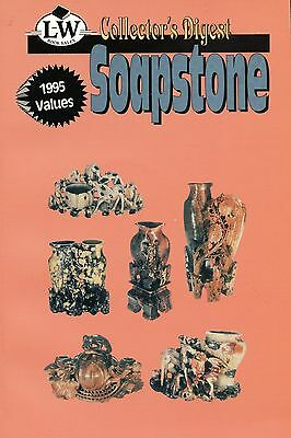 Carved Soapstone - Statues Figurines Bowls Vases Ashtrays Etc. / Book + Values