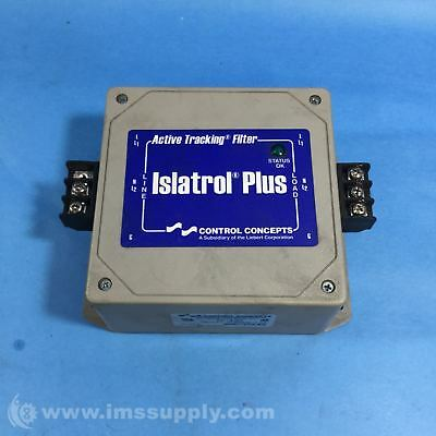 Control Concepts Ic+107 Isatrol Plus Tracking Filter Usip
