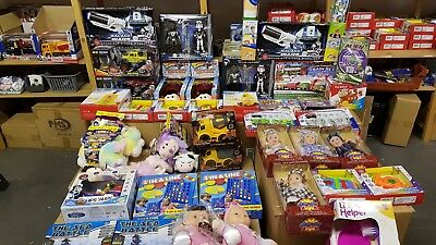 Wholesale Large Job Lot Of Mixed Toys As Shown & Listed - Make Money This Xmas !