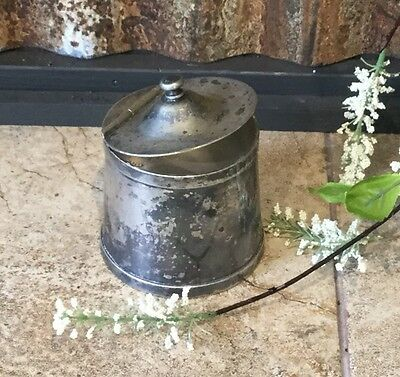 Vintage Wear-Brite Silver Plate Sugar Container, Farmhouse Decor,
