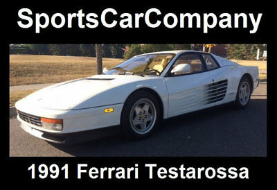 1991 Ferrari Testarossa TESTAROSSA 1991 FERRARI TESTAROSSA LOW MILE (Just 14k) SUPERB INSIDE & OUT CALL TODAY!