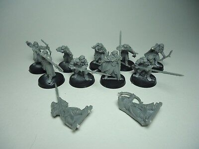 Games Workshop Lord Of The Rings Haradrim Army 11 pieces *SEE DETAILS*