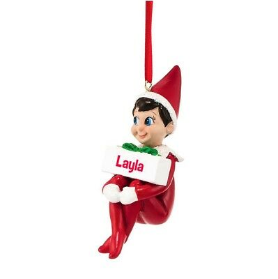 Department 56 Elf on The Shelf Layla Ornament, 3.74-Inch