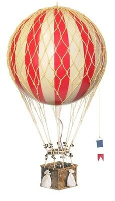 Royal Aero True Red Hot Air Balloon Hanging Authentic Models AP163R