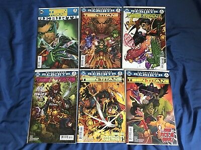 Teen Titans Rebirth #1-5