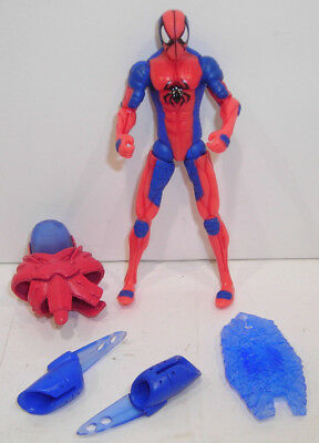 Amazing Spider-Man SPIDER-MAN Action Figure COMPLETE Comic Series Web Shield