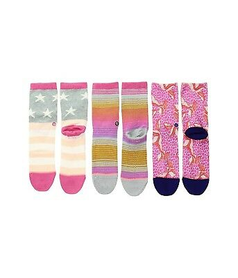 Stance Purdy Box Set Girls Toddler Socks 1-2. Shipping Included