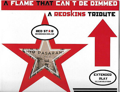 """The Redskins, A Tribute, 10"""" Red Vinyl, The Clash, Joe Strummer, Very Rare, New"""